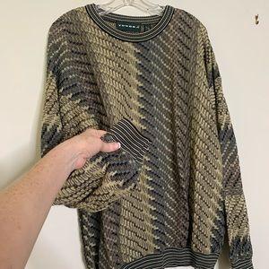 VTG Tundra 100% Cotton Textured  Sweater